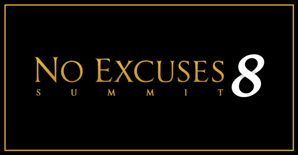 no excuses summit 8 banner
